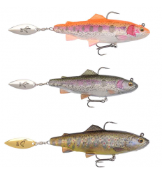 Savage Gear 4D Trout Spin Shad
